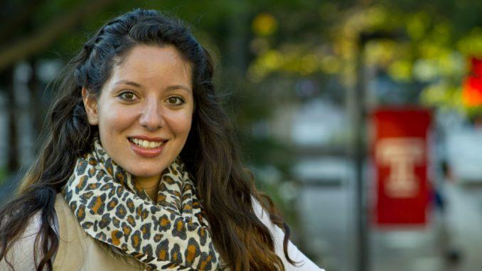 Julie Malave facilitates the Latino community on campus through AdEL. ( LUIS FERNANDO RODRIGUEZ // TTN )