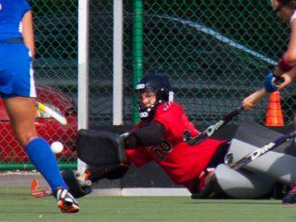 Redshirt-sophomore goalkeeper Lizzy Millen averages 3.68 goals allowed per game. ( HUA ZONG / TTN )