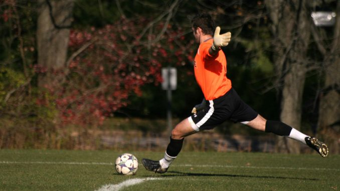 Junior goalkeeper Bobby Rosato recovers from a stress fracture in his arm while sophomore Dan Scheck has started both games for Temple (0-1-1). ( ABI REIMOLD / TTN FILE PHOTO )