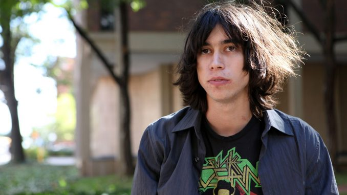 Sophomore Alex Giannascoli, or Alex G., has gained a following from his solo project and full band, The Skin Cells. Giannascoli plays piano, drums and the guitar. ( KATE MCCANN / TTN )