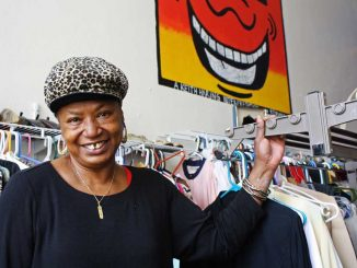 Dolores Johnson has had Robinson's Urban Thrift in her family for six generations. The store is located one block from Main Campus on 1542 N. 15th St. | KELSEY DUBINSKY / TTN