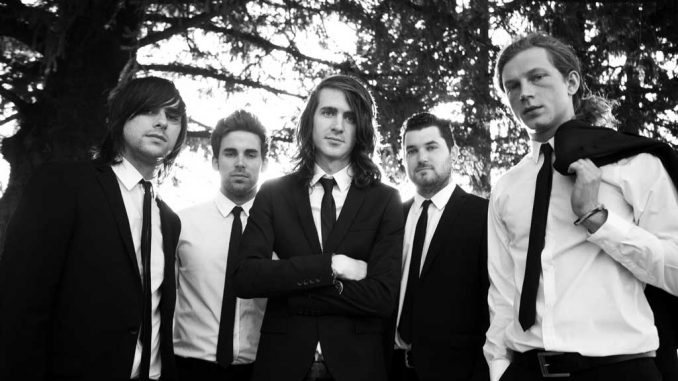 Mayday Parade earned popularity among the alternative pop-punk scene for its catchy hooks and upbeat music since it started in 2005. | COURTESY TOM FALCONE