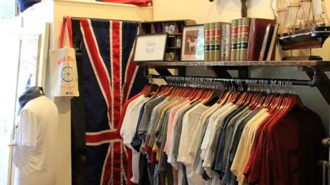 Duke & Winston's signature item is its graphic T-shirt, a stylish and comfortable staple. ( SABA AREGAI // TTN )