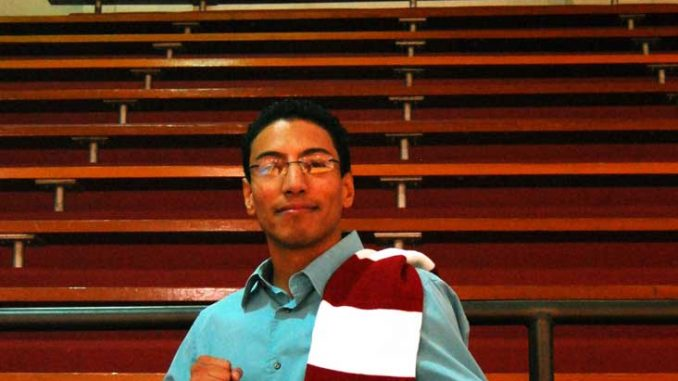 """Alumnus Alex """"Macho"""" Barbosa hopes to have a political career once he's done boxing. 