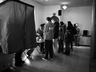 Students and community members voted at The AME Union Church at 16th and Jefferson streets. | KATE McCANN / TTN