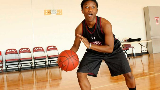 Sophomore guard Rateska Brown enters the season expecting to play significant minutes. | AJA ESPINOSA / TTN