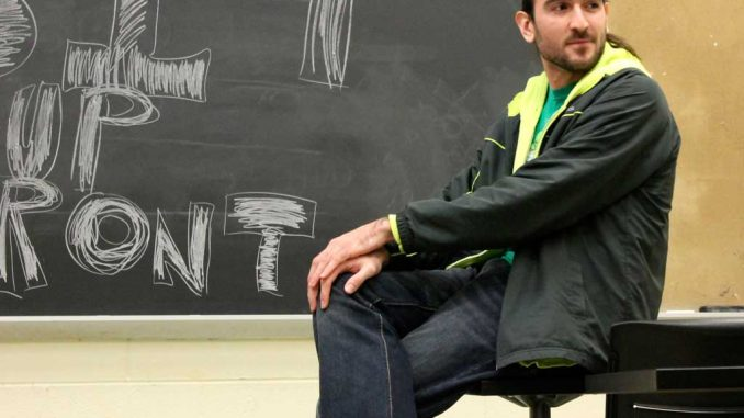 Members of TU Comedy meet regularly in Ritter Hall room 300 on Wednesday nights. | AJA ESPINOSA / TTN
