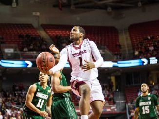 Senior guard Khalif Wyatt scored a game high 26 points in Temple's 70–62 win against Wagner on Dec. 1. | HUA ZONG / TTN