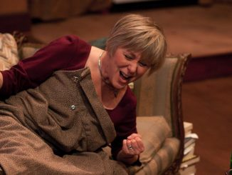 """Williams starred as Jennifer Lawrence's mother in """"Silver Linings Playbook."""" She is shown above in her Barrymore award winning performance, as Frances in Lantern Theater's 2010 production of """"The Breath of Life."""" 
