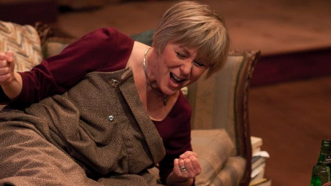 "Williams starred as Jennifer Lawrence's mother in ""Silver Linings Playbook."" She is shown above in her Barrymore award winning performance, as Frances in Lantern Theater's 2010 production of ""The Breath of Life."" 