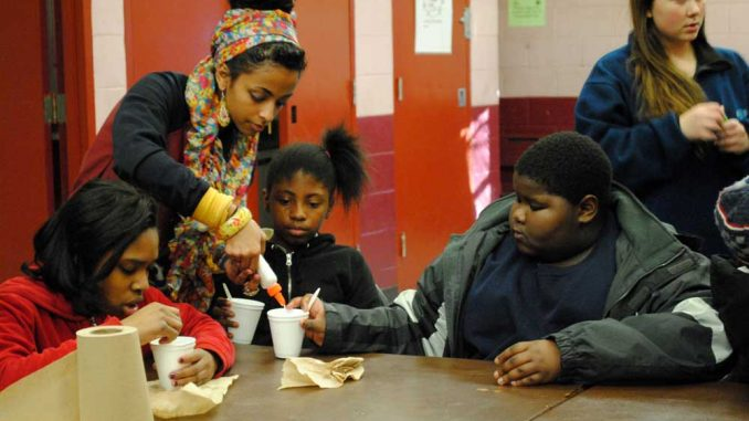 The Chemistry Society visits a local recreation center every Thursday. | BRYNN PEZZUTI / TTN