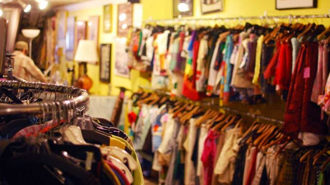 Philly AIDS Thrift on 710 South Fifth Street selects the highest quality clothing to be resold. A majority of the store's staff are volunteers, an often-overlooked aspect. | ANDREW THAYER / TTN