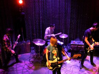 """Philadelphia psychedelic punk band Bleeding Rainbow took the stage at Johnny Brenda's on Feb. 14 to mark the release of its new album, """"Yeah Right."""" 