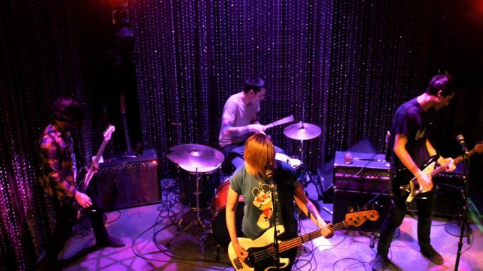 "Philadelphia psychedelic punk band Bleeding Rainbow took the stage at Johnny Brenda's on Feb. 14 to mark the release of its new album, ""Yeah Right."" 