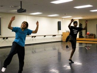 Members of TU Bhangra practice on Main Campus. The group performs dances that reflect their Indian roots.   AJA ESPINOSA / TTN