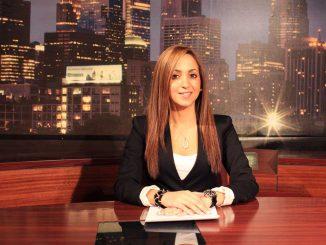 Janelle Roedán anchors Update Ahora, the first Spanish-language broadcast on TUTV. | SABA AREGAI / TTN