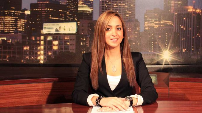 Janelle Roedán anchors Update Ahora, the first Spanish-language broadcast on TUTV. | SABA AREGAI / TTN