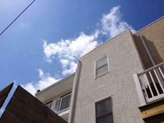 A West Chester student fell to her death at a rooftop party during Spring Fling last week, on the 1900 block of North 18th Street. Such parties have become common in the area, residents report.| ABI REIMOLD / TTN