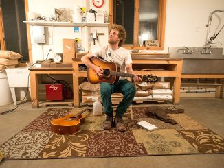 Chadwick Stokes tours the country playing living room concerts.   Courtesy RYAN MASTRO