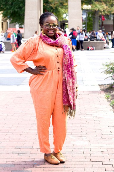 Zaineb Ahmed said it doesn't matter what people think about personal style. | Luis Fernando Rodriguez TTN