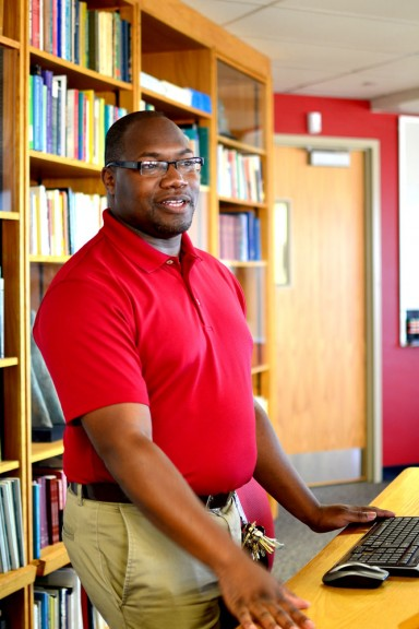 Cyril Ireland transitioned from student to a tech support manager in Anderson after graduation. | Skyler Burkhardtt TTN