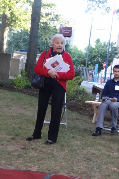 Frieda Tabak, Holocaust survivor. | Hend Salah TTN