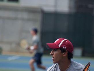 Hicham Belkssir is 6-0 in singles play after the Navy Invitational and the Princeton Invitational.   Abi Reimold TTN