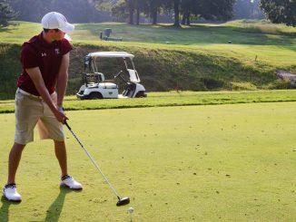 The golf team began its season at The Doc Gimmler. Temple finished three strokes behind second-place Harvard, as Brandon Matthews led the team. | Dan Pellegrine TTN