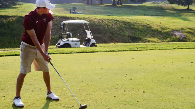 The golf team began its season at The Doc Gimmler. Temple finished three strokes behind second-place Harvard, as Brandon Matthews led the team. | Dan Pellegrine TTN