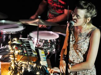 Psychedelic band Eros and the Eschaton played at PhilaMOCA on Sept. 12. | Emily Vishnevetsky TTN