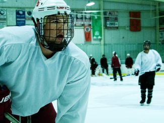 The ice hockey team held its first set of tryouts last week, as coach Ryan Frain attempts to place a greater focus on speed and hard work. The Owls will open their 2013 season on Sept. 21 against the University of Maryland. | Dan Pelligrine TTN