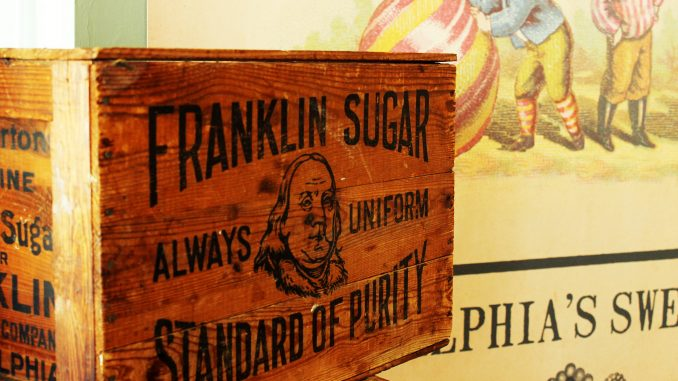 """Oh Sugar!"" tells Philadelphia's candy history story through artifacts and exhibits. 