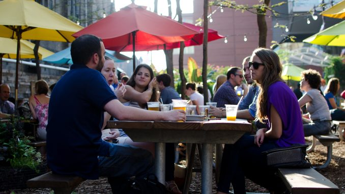 Garden-goers can find picnic-style food for as low as $12. | Alex Udowenko TTN