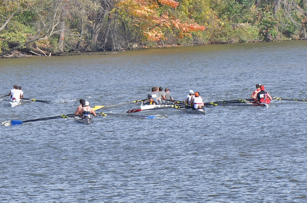 Crew was involved with a collision towards the end of its race at the Princeton Chase. | Courtesy Alexandra McDermott