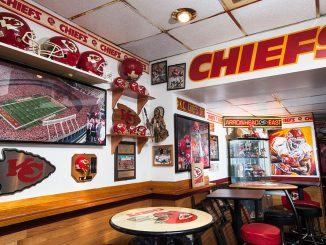Big Charlie's Saloon in South Philly is filled with Kansas City Chiefs memorabilia. | Mike Bucher TTN