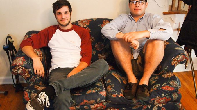 Andrew Gelburd and Marco Florey of Placeholder hang out together in their house. | Brendan Menapace TTN