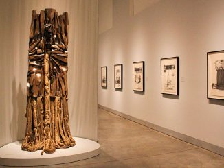 Barbara Chase-Riboud's artwork, inspired by the civil rights era, is displayed at the Philadelphia Museum of Art until January before it moves to the Berklee Art Museum. | Kara Milstein TTN