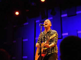 """Dave Hause played WXPN Live's """"Free-At-Noon"""" series on Oct. 4. The former member of Paint it Black released his solo album """"Devour"""" on Oct. 8. 