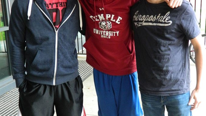MCPB chose B.o.B for this year's homecoming performer. Harsh Patel (left), Jake Himes and John Hardie, among other students, shared their thoughts.   Sash Schaeffer TTN