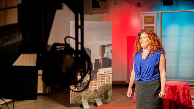 """Lisa Bien created """"Bouncing Back,"""" a TUTV show that confronts self esteem issues among students. 