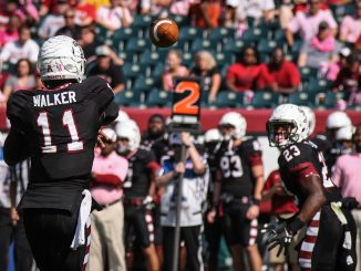 Freshman P.J. Walker will look for his first collegiate victory this weekend during Temple's Homecoming game against Army. | Timothy Valshtein TTN