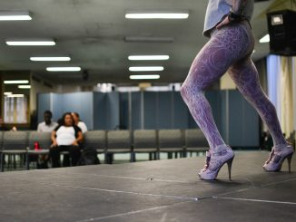 """Drag kings and queens rehearsed for the show yesterday, Oct. 7, during the weekend prior. One drag queen, Jay Oatis, practiced his routine """"Walking on Air"""" as the character he played for the final show, Sarafina. 