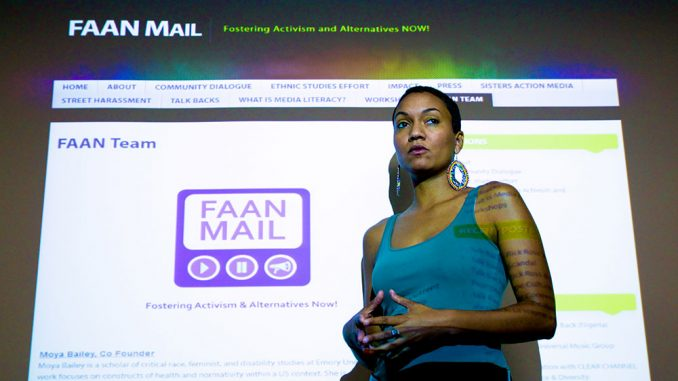 Nuala Cabral, a 2010 Temple alumna, spearheads the nonprofit FAAN Mail. | Darragh Friedman TTN