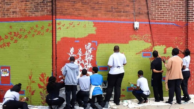 We the Weeds aims to educate Philadelphia's youth about urban plants. | COURTESY KAITLIN POMERANTZ