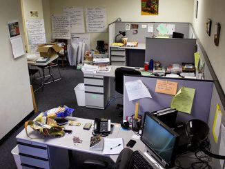 The office of Inside-Out, a program established in 1997 by Lori Pompa, a professor at Temple. | Claire Sasko TTN
