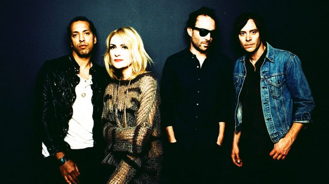 Left to right: Joshua Winstead, Emily Haines, Jimmy Shaw and Joules Scott-Key. | COURTESY BRANTLEY GUTIERREZ