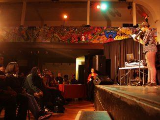 Members of the Phhiladelphia Youth Poetry Movement performed original poetry on Nov. 15 at The Rotunda. | Patricia Madej TTN