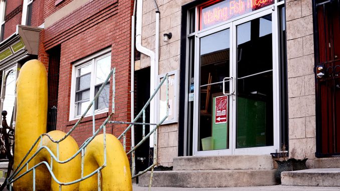 The Walking Fish Theatre has been open for seven years and produces at least four shows every year.| Andrew Thayer TTN