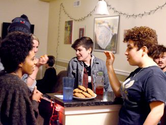 The Temple Area Feminist Collective meets regularly to discuss current issues in society including rape culture and gender role expectations. | Andrew Thayer TTN