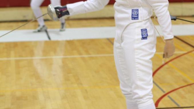 The fencing team has been ranked in the Top 10 nationally for the past seven years. | Cameron Resnick TTN